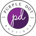 Purple Dot Fashion Logo