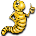 Rainbow Mealworms Logo