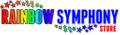 Rainbow Symphony Store USA Logo