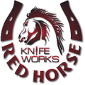 Red Horse Knife Work Logo
