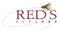 Red's Fly Shop logo