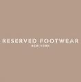 Reserved Footwear Logo