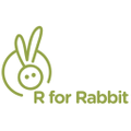 R for Rabbit Baby Products Pvt Ltd Logo