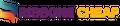 Ribbons Cheap Logo