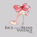 Rice And Beans Vintage Logo