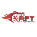 Right Foot Twitch Logo