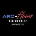 Rochester Arc + Flame Center USA Logo