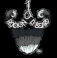 Rockin D Beard Logo