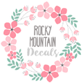 Rocky Mountain Decals Logo