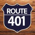 Route 401 logo
