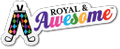 Royal & Awesome Logo