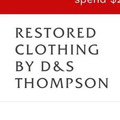 Restored Clothing By D&S Thompson Logo