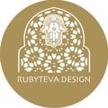 Rubyteva Design Logo