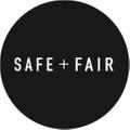 Safe + Fair Logo
