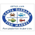 Santa Barbara Fish Market USA Logo