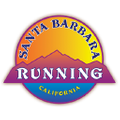 Santa Barbara Running Logo