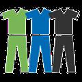Hunter Scrubs Logo
