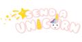Send a Unicorn Logo