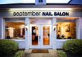 September Nail Salon Logo