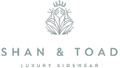 Shan and Toad - Luxury Kidswear Shop Logo