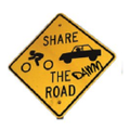 Share The Damn Road Logo