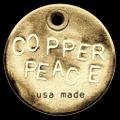 Copper PEACE Logo