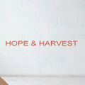 Hope and Harvest logo