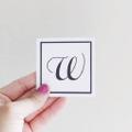 The W Nail Bar Logo