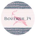Boutique 74 logo