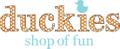 Duckies Shop of Fun Logo