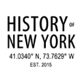 History of New York logo