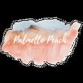The Palmetto Peach Logo
