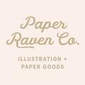 Paper Raven Co Logo