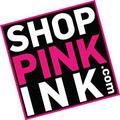 Pink Ink Screen Printing Logo