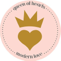 Queen of Hearts and Modern Love Logo