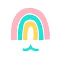 The Rainbow Mermaid USA Logo