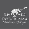 TAYLOR + MAX Logo
