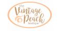 The Vintage Peach Boutique Logo