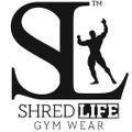 SHRED LIFE GYM WEAR Logo