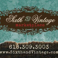 Sixth And Vintage Logo