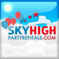 Sky High Party Rentals Logo