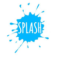 Splash Swim Goggles Logo