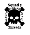 Squad5threadz Logo