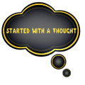 Started With A Thought Logo
