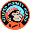 Steeped Monkey Brains Logo