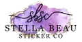 Stella Beau Sticker Co Logo