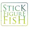 Stick Figure Fish Illustration Australia Logo
