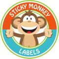 Sticky Monkey Labels Logo
