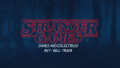 Stranger Games Logo
