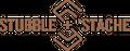 stubble + 'stache Logo